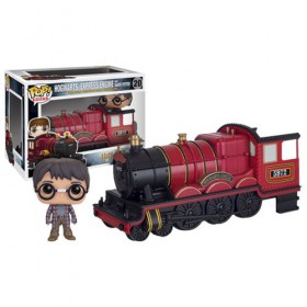 Pop! Rides - Harry Potter - Hogwarts Express Engine with Harry Potter