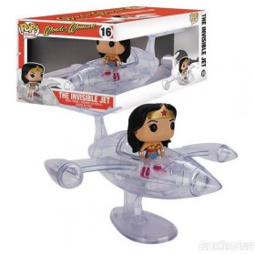 Pop! Rides - Wonder Woman - The Invisible Jet