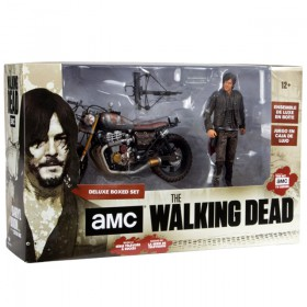 The Walking Dead: Deluxed boxed set  - Daryl Dixon with custom bike