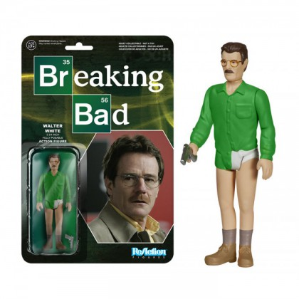 ReAction Breaking Bad Walter White 3 3/4-Inch Retro