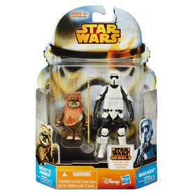 Rebels - Mission Series Wave 5 - Wicket W. Warrick and Biker Scout