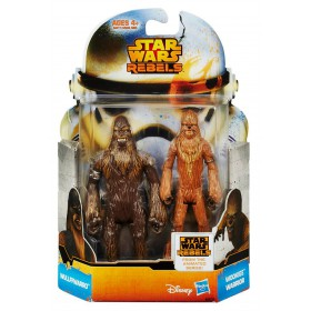 Rebels - Mission Series Wave 5 - Wullffwarro and Wookiee Warrior