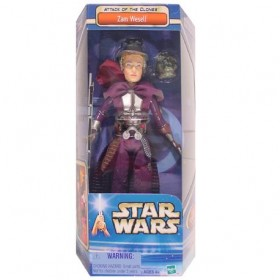 Star Wars Attack of the Clones Zam Wesell 12 Inch