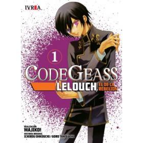 Pre Venta Code Geass Lelouch, el de la Rebelión 01 (10% de descuento)
