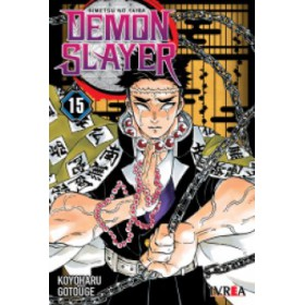 Pre Venta Demon Slayer Kimetsu No Yaiba 15 (10% de descuento)