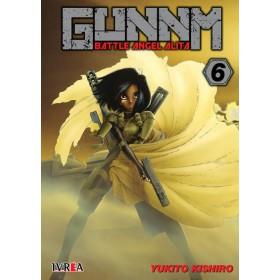 Pre Venta Gunnm Battle Angel Alita 06 (10% de Descuento)