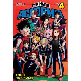 Pre Venta My Hero Academia 04 (10% de Descuento)