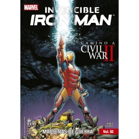 Invencible Iron Man Vol 2 Maquinas de Guerra