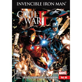 Invencible Iron Man Vol 3 La 2da Guerra Civil de Iron Man
