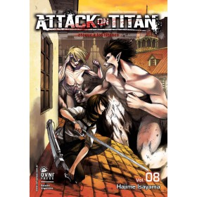 Attack On Titan Vol 08