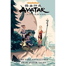 Avatar The Last Airbender The Lost Adventures and Team Avatar Tales - Library Edition