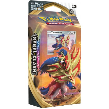 Deck - Sword & Shield Rebel Clash - Zamazenta