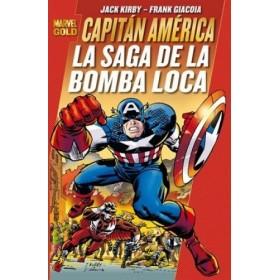 Marvel Gold - Capitan America: La Saga de la Bomba Loca