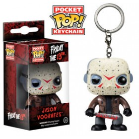 POP! VINYL FIGURE KEYCHAIN - FRIDAY THE 13TH - JASON VOORHEES