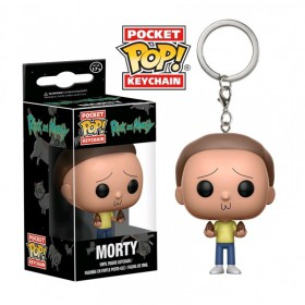 Pop! Vinyl Figure KeyChain - Rick and Morty - Morty