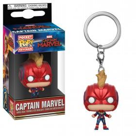 Captain Marvel - Captain Marvel llavero Pop!