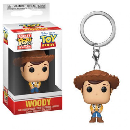 Toy Story - Woody  llavero Pop!