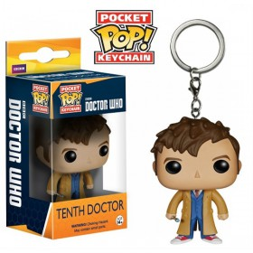 Pop! Vinyl Figure Key Chain - Dr. Who - Tenth Doctor