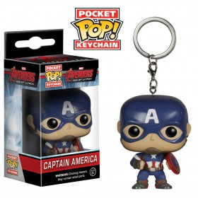Captain America Avengers Age of Ultron LLAVERO POP!