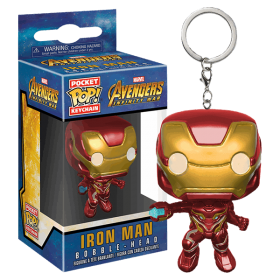 Avengers Infinity War Iron Man Llavero Pop!