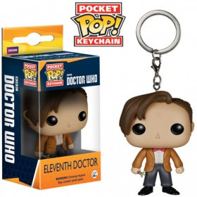 Pop! Vinyl Figure Key Chain - Dr. Who - Eleventh Doctor