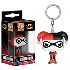 Pop! Vinyl Figure KeyChain - DC Comics - Harley Quinn