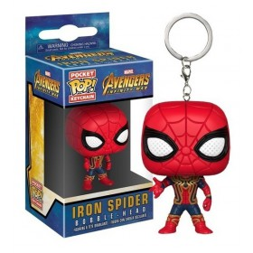 AVENGERS INFINITY WAR IRON SPIDER LLAVERO POP!