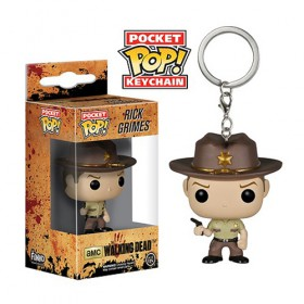 Pop! Vinyl Figure Key Chain - Rick Grimes