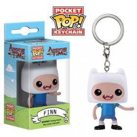 Pop! Vinyl Figure Key Chain - Adventure Time - Finn