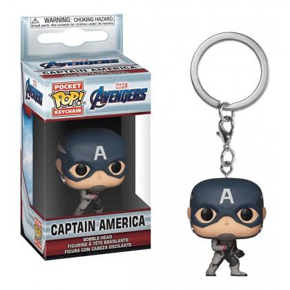 Avengers EndGame Captain America llavero Pop!
