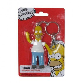 The Simpsons Homer Simpson Bendable