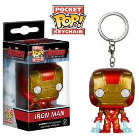POP! VINYL FIGURE KEYCHAIN - AVENGERS AGE OF ULTRON - IRON MAN