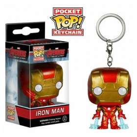 Pop! Vinyl Figure Key Chain - Ironman