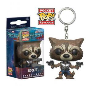 Pop! Vinyl Figure Key Chain - Guardians of the Galaxy - Rocket Raccoon
