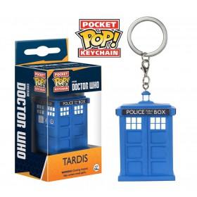 POP! VINYL FIGURE KEYCHAIN - Doctor Who: Tardis