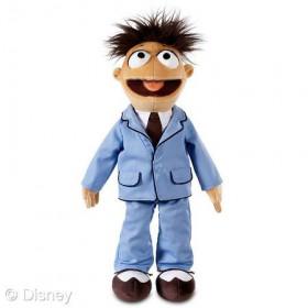 Disney Store Walter Plush Bean Bag Doll Muppets 16 inch