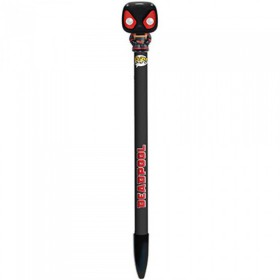 POP! PENS - MARVEL - DEADPOOL NEGRO